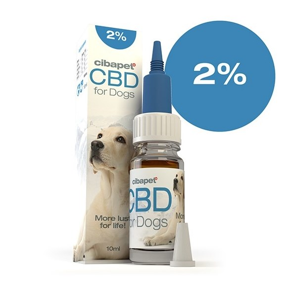 Cibapet CBD Oil 2% for dogs