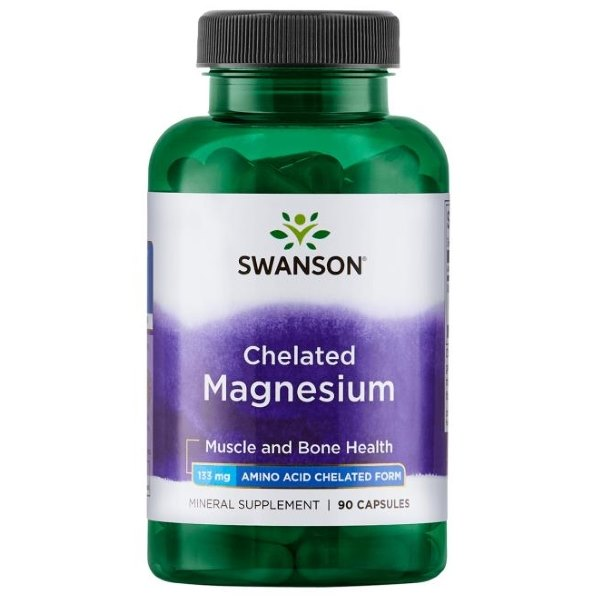 Swanson Chelated Magnesium 133mg