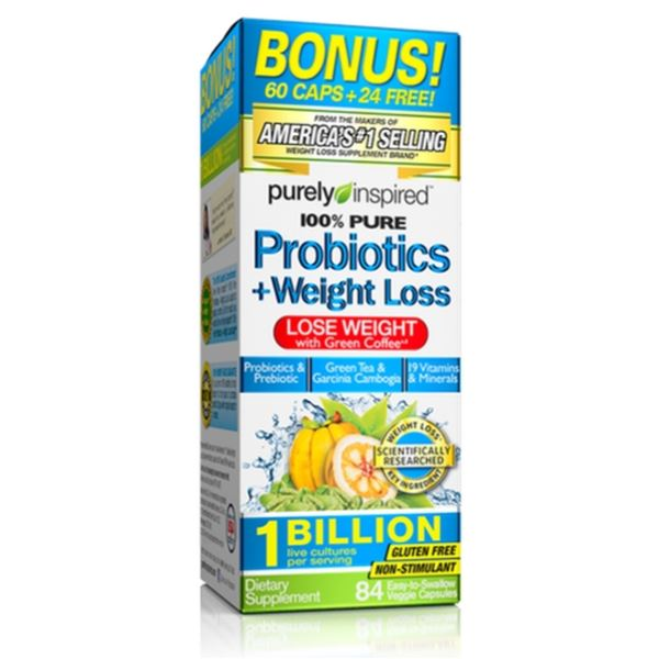 Purely Inspired Probiotics & Weight Loss