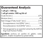 Nordic Naturals Omega 3 Pet ingredients