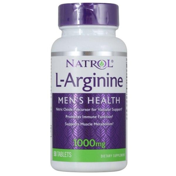 Natrol L-Arginine 1000mg x50