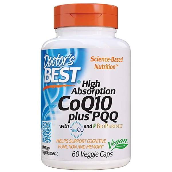 Doctors Best CoQ10 + PQQ