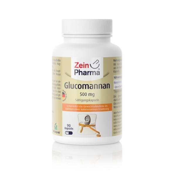 Zein Pharma Glucomannan 500mg