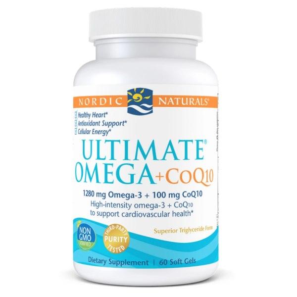Nordic Naturals Ultimate Omega + CoQ10 x 60