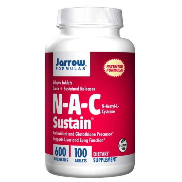 Jarrow Formulas N-A-C Sustain 600mg x 100