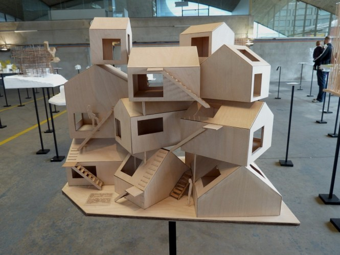Model Of Tokyo Apartment At The Exhibition Sou Fujimoto Architecture As Forest