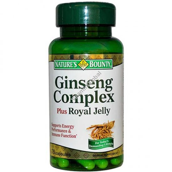 Image Result For Natures Bounty Ginseng Complex And Royal Jelly
