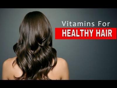 Vitamin Untuk Rambut Sihat