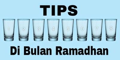 Cara Minum Air Cukup Semasa Puasa
