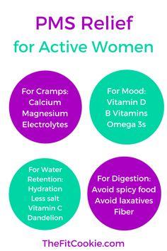 diet PMS dan senggugut