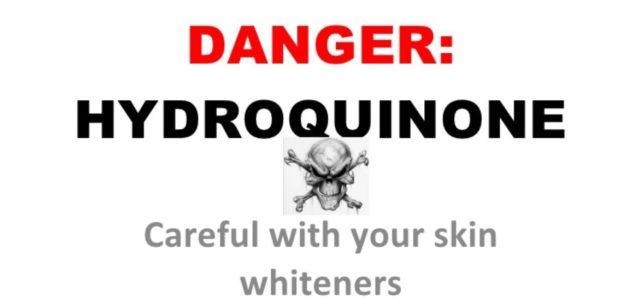 Bahaya Hydroquinone Sebagai Ejen Putihkan Kulit