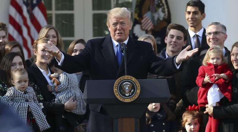 Trump è il primo Presidente USA a parlare durante la Marcia per la Vita
