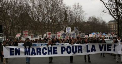 Papa: Associazioni cattoliche, grate per messaggio a Marcia Vita Parigi su obiezione coscienza