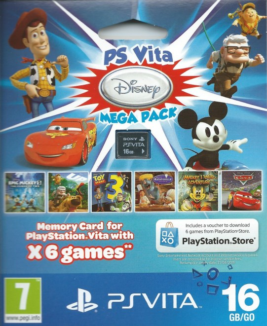 PS Vita Disney Mega Pack 01