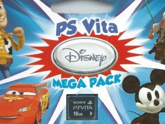 PS Vita Disney Mega Pack