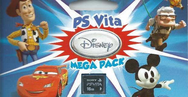 PS Vita Disney Mega Pack