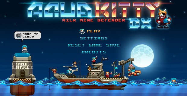 Aqua Kitty Milk Mine Defender DX PS Vita