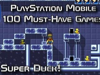 100 Best PlayStation Mobile Games 048 - Super Duck
