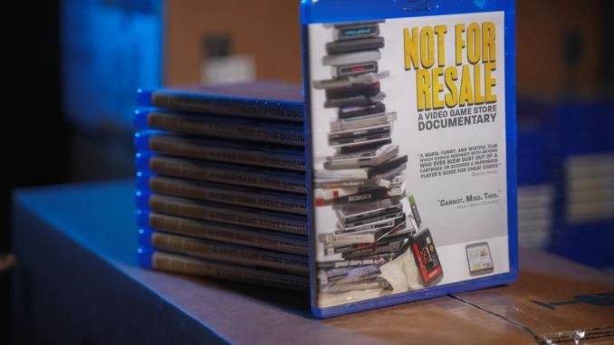 Not for Resale - A Video Game Store Documentary