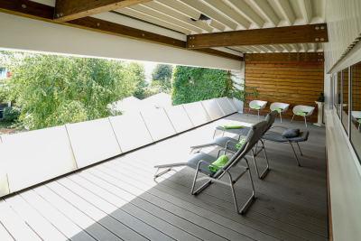 Vita Sports - Außenbereich neue Saunalandschaft