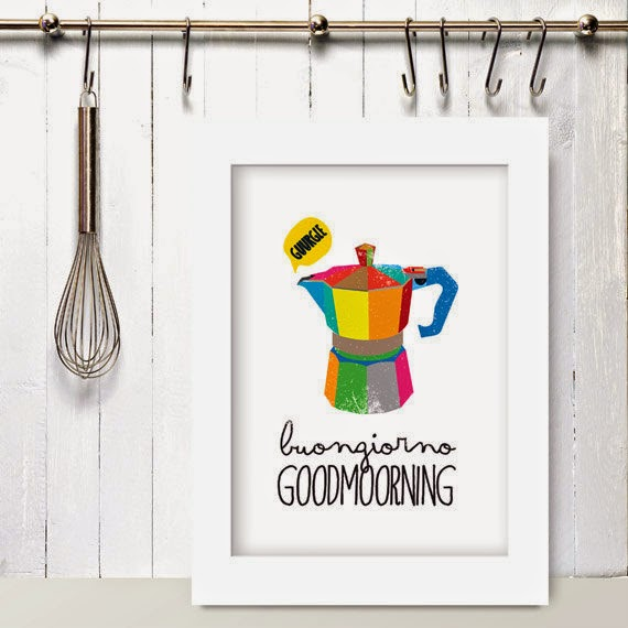 Home Inspiration: le stampe da appendere in cucina   Vita su ...