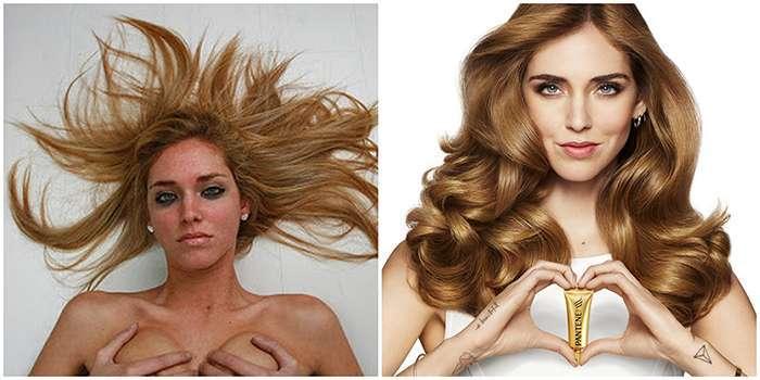 capelli di Chiara Ferragni