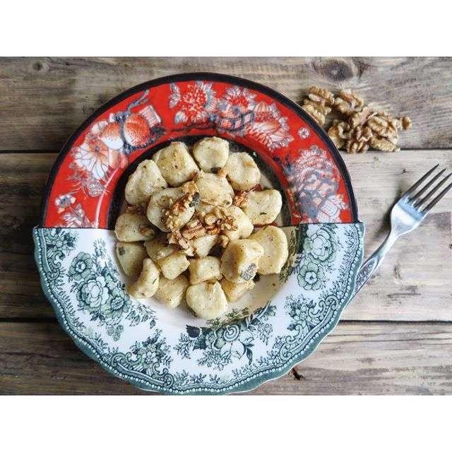 gnocchi di ricotta e parmigiano