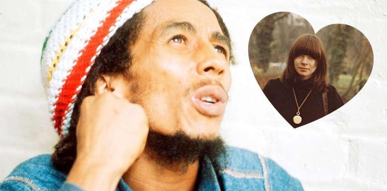Anna Wintour e Bob Marley