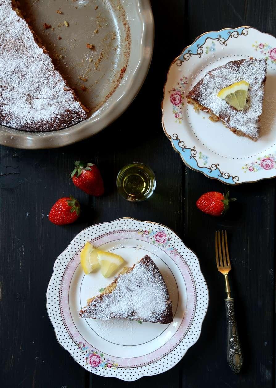 torta al limone e cioccolato bianco