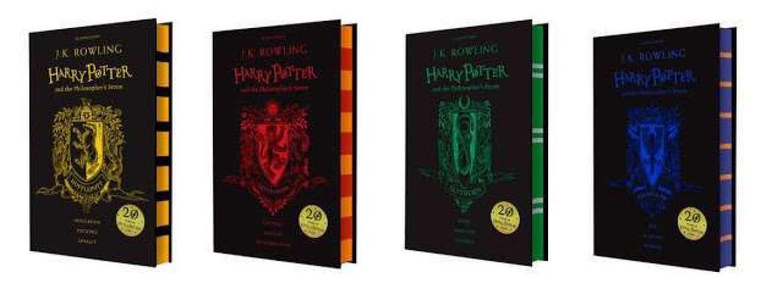 nuovi libri di Harry Potter
