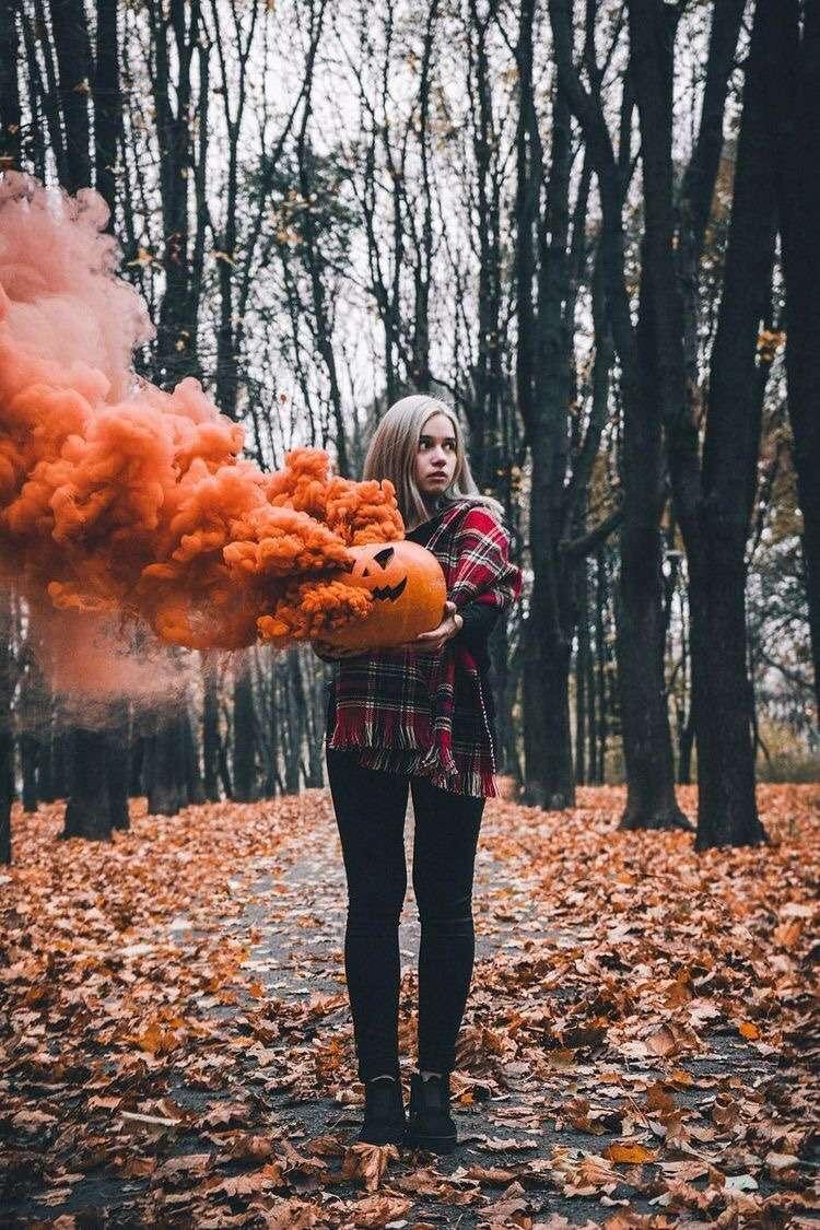 autunno e halloween