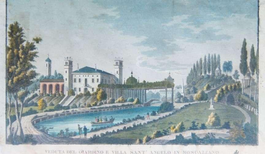 villa storica disegno