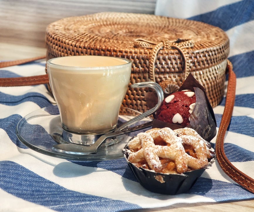 caffè freddo in Autogrill