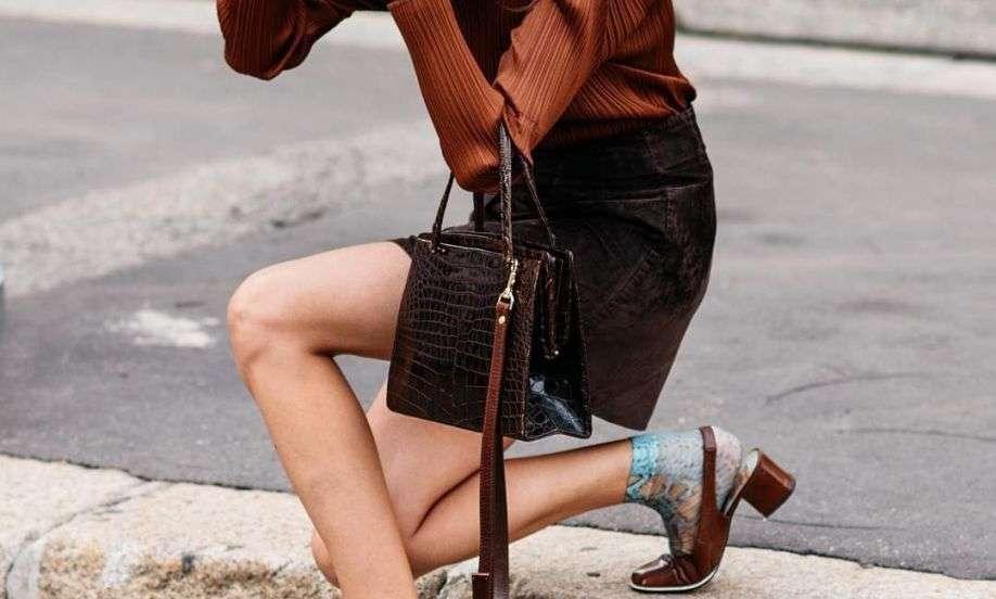 la moda del marrone