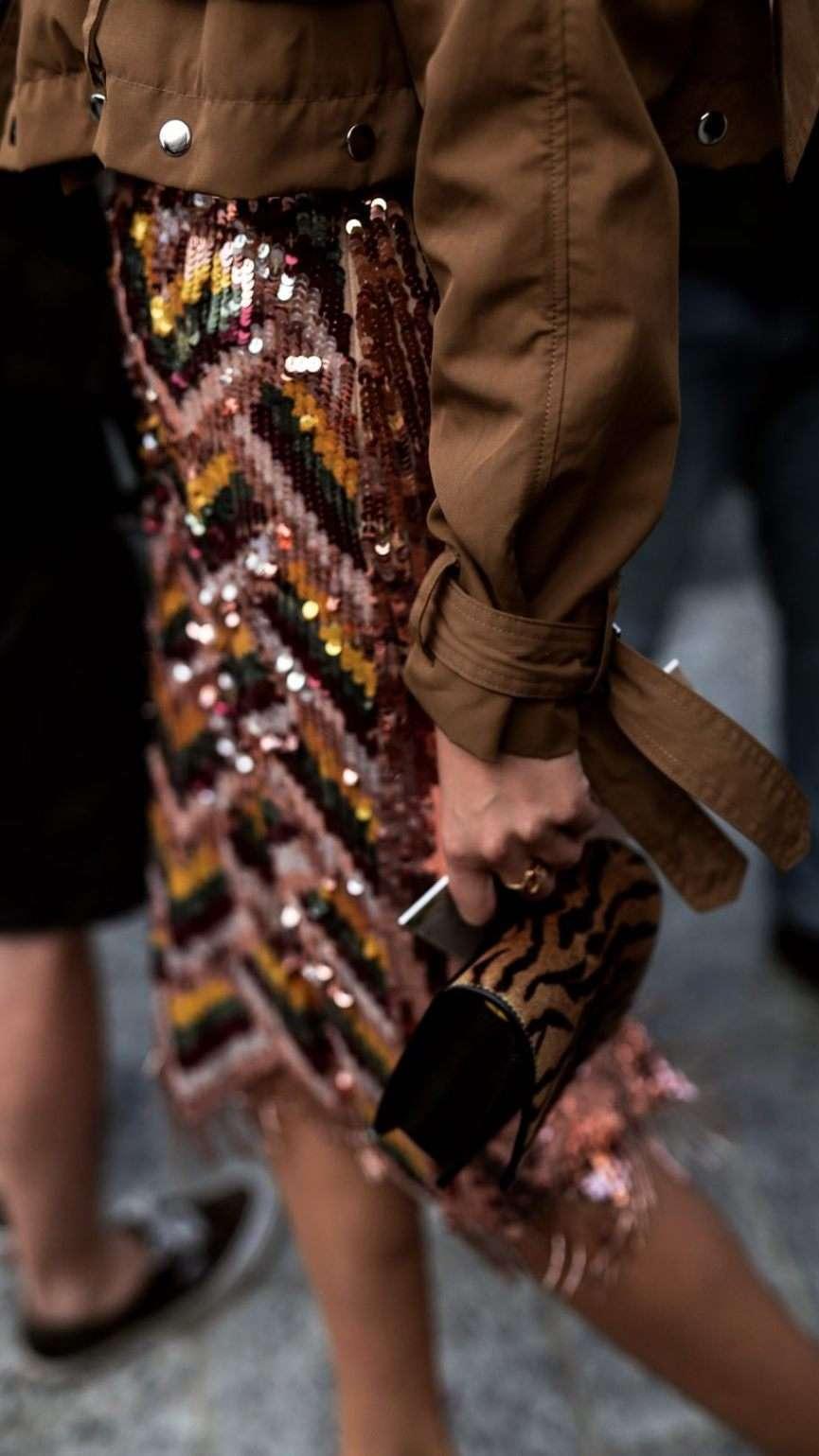 moda e street style della fashion week