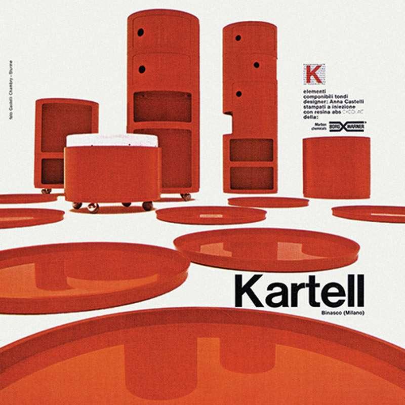 storia dei Componibili di Kartell