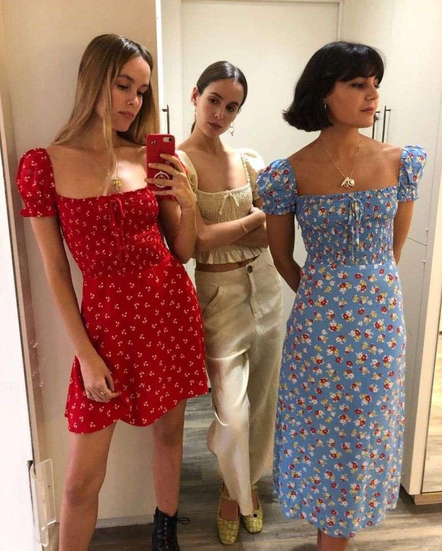 Compriamo un vestito a fiori da donzelletta che vien dalla campagna | Vita su Marte