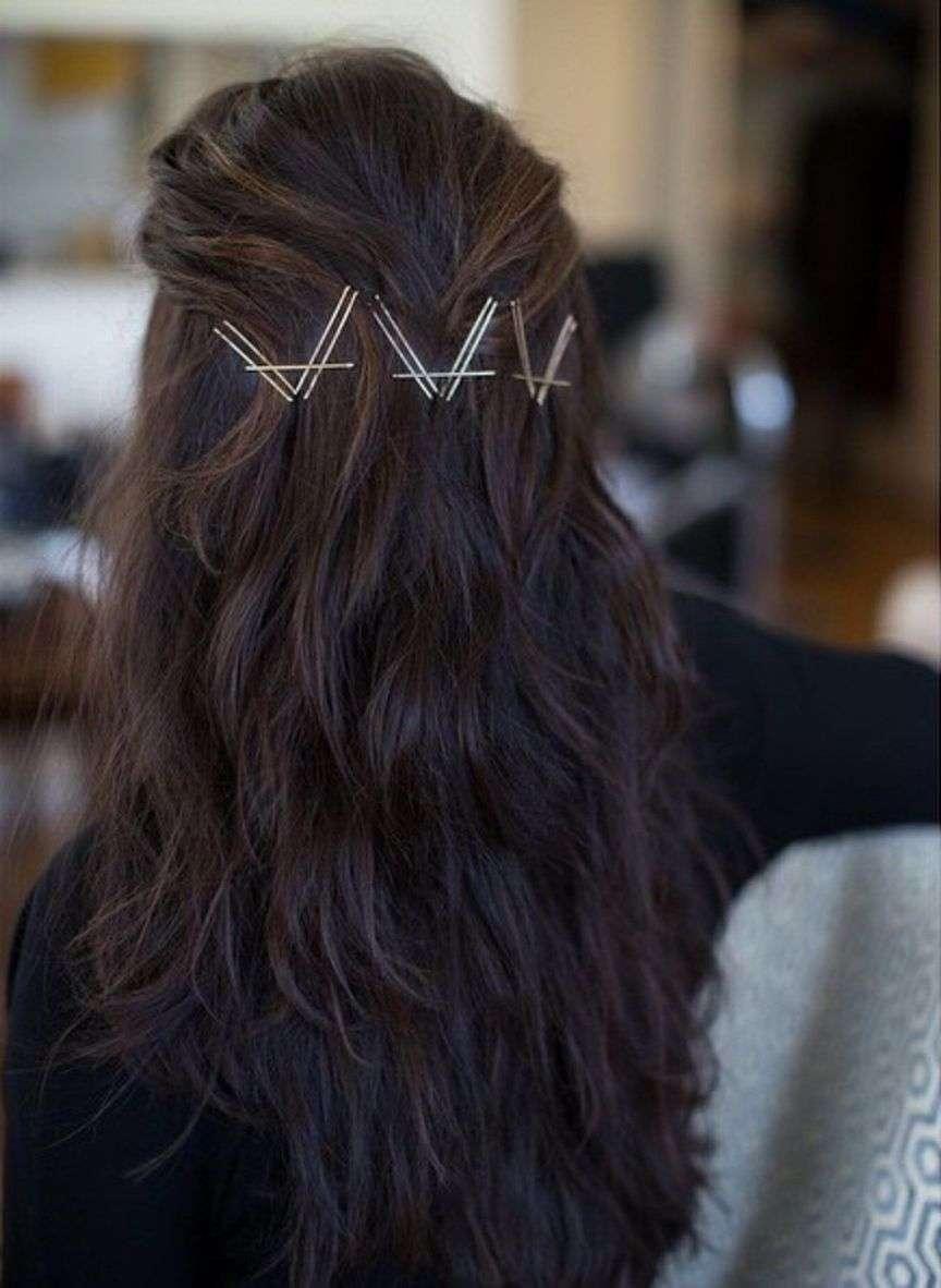 bobby pins moda capelli