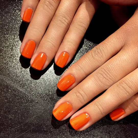 smalto arancione