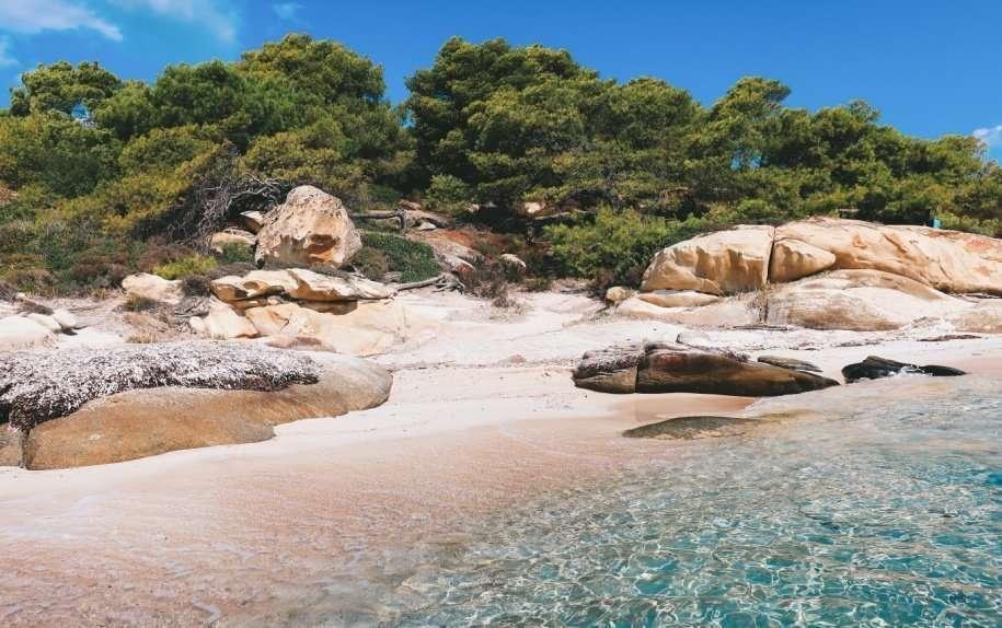 Viaggio in Grecia: il mare della penisola Calcidica