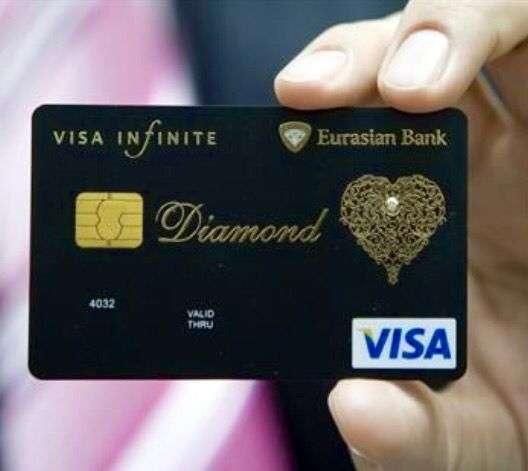 carta di credito illimitata e infinita - Visa Infinite