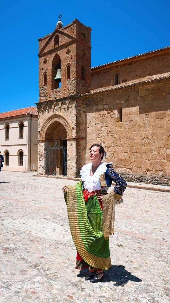 abito da sposa tradizionale arbëreshë