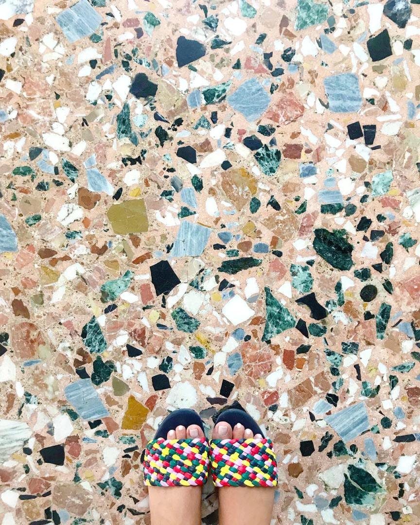 pavimento in graniglia