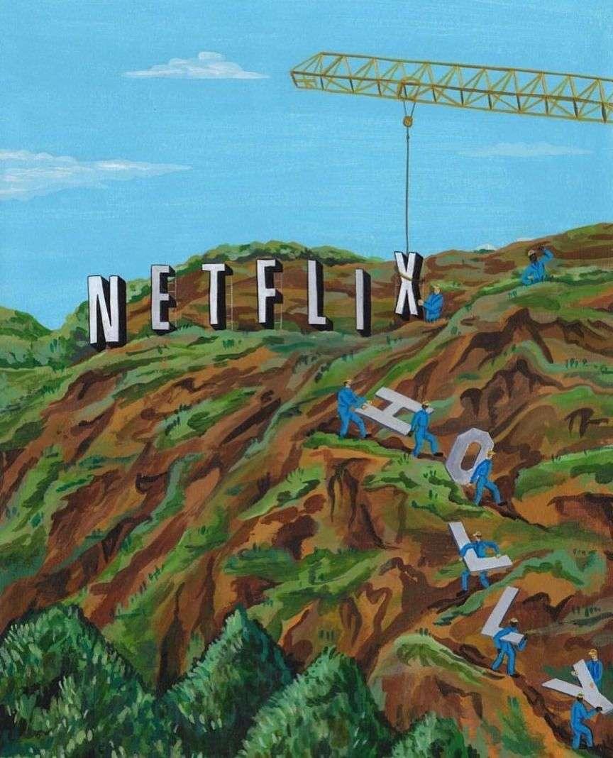 Netflix or Hollywood