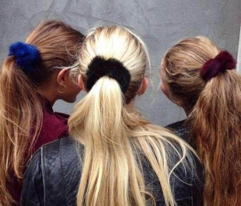 elastici per capelli autunno