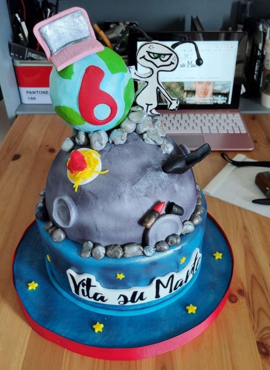 Buon compleanno Vita su Marte