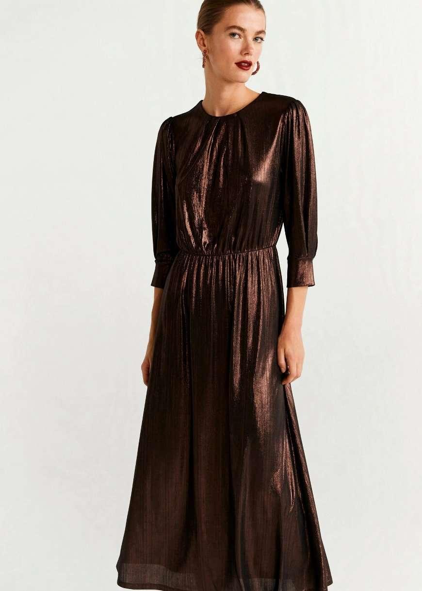 abito metallizzato