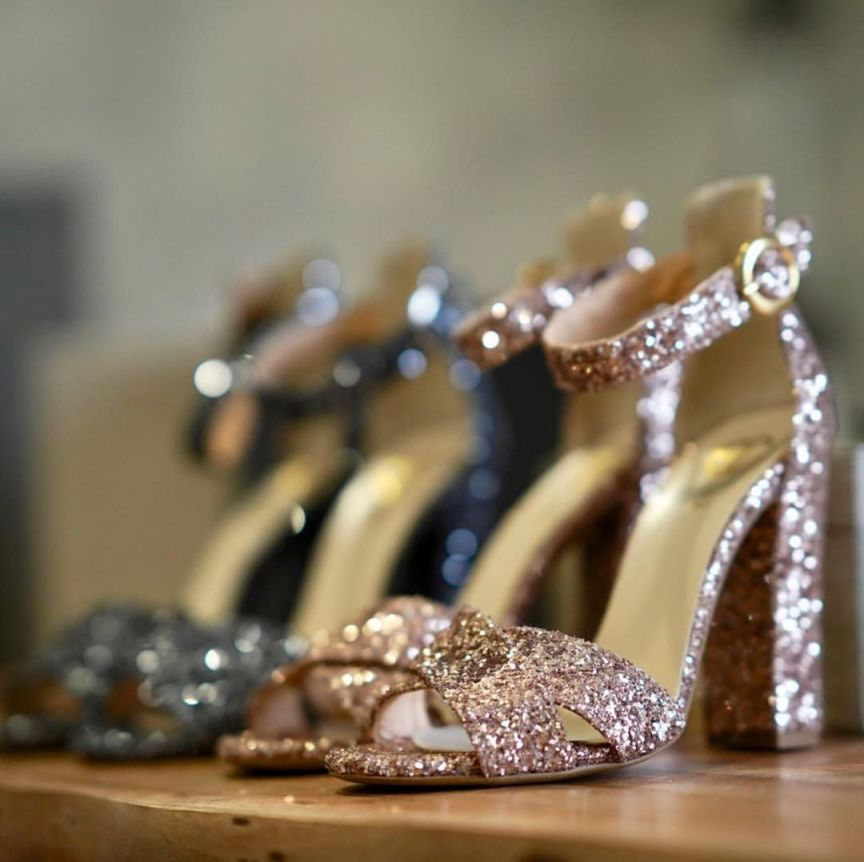 sandali scarpe glitter