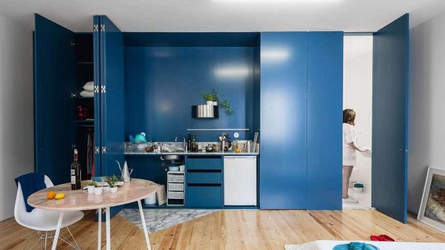 classic blue appartamento piccolo