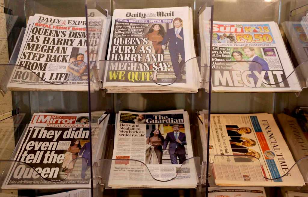 stampa inglese gossip sui reali